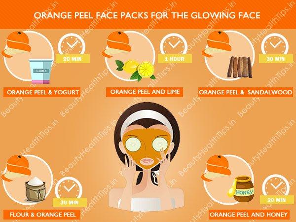 Cómo preparar paquetes de cara y máscaras de piel de naranja en casa para la cara brillante