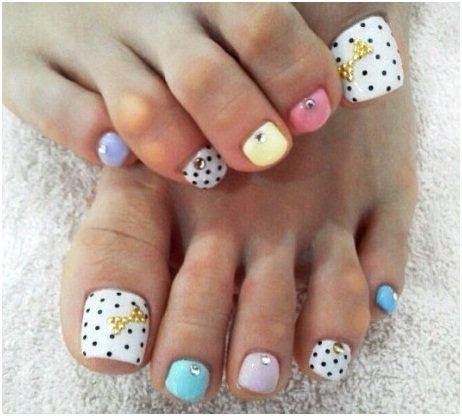Diseño de arte de uñas sólido de doble color