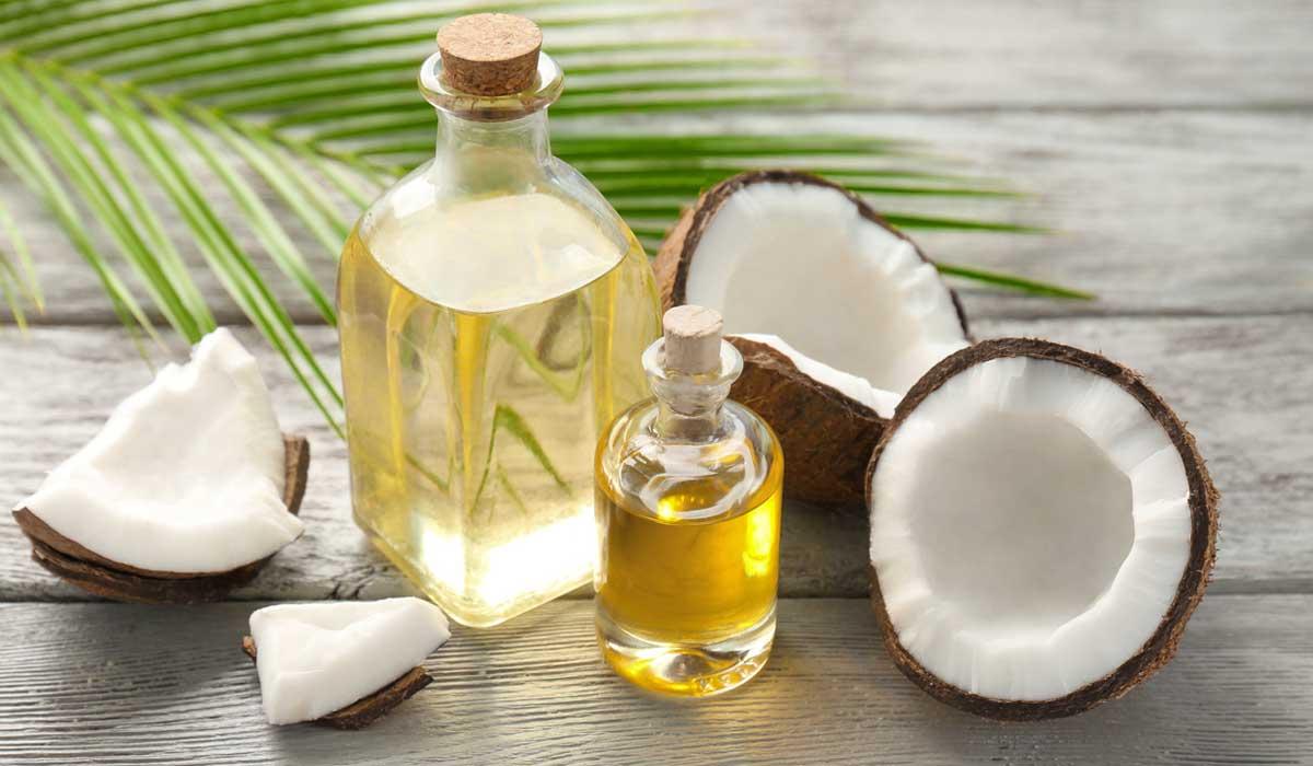 aloe vera y aceite de coco