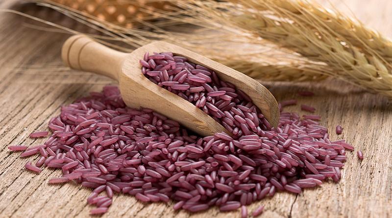 arroz purpura